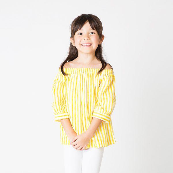 b0930903a5d439 Baby Yellow Open Shoulder Dress « La Prime by Bo